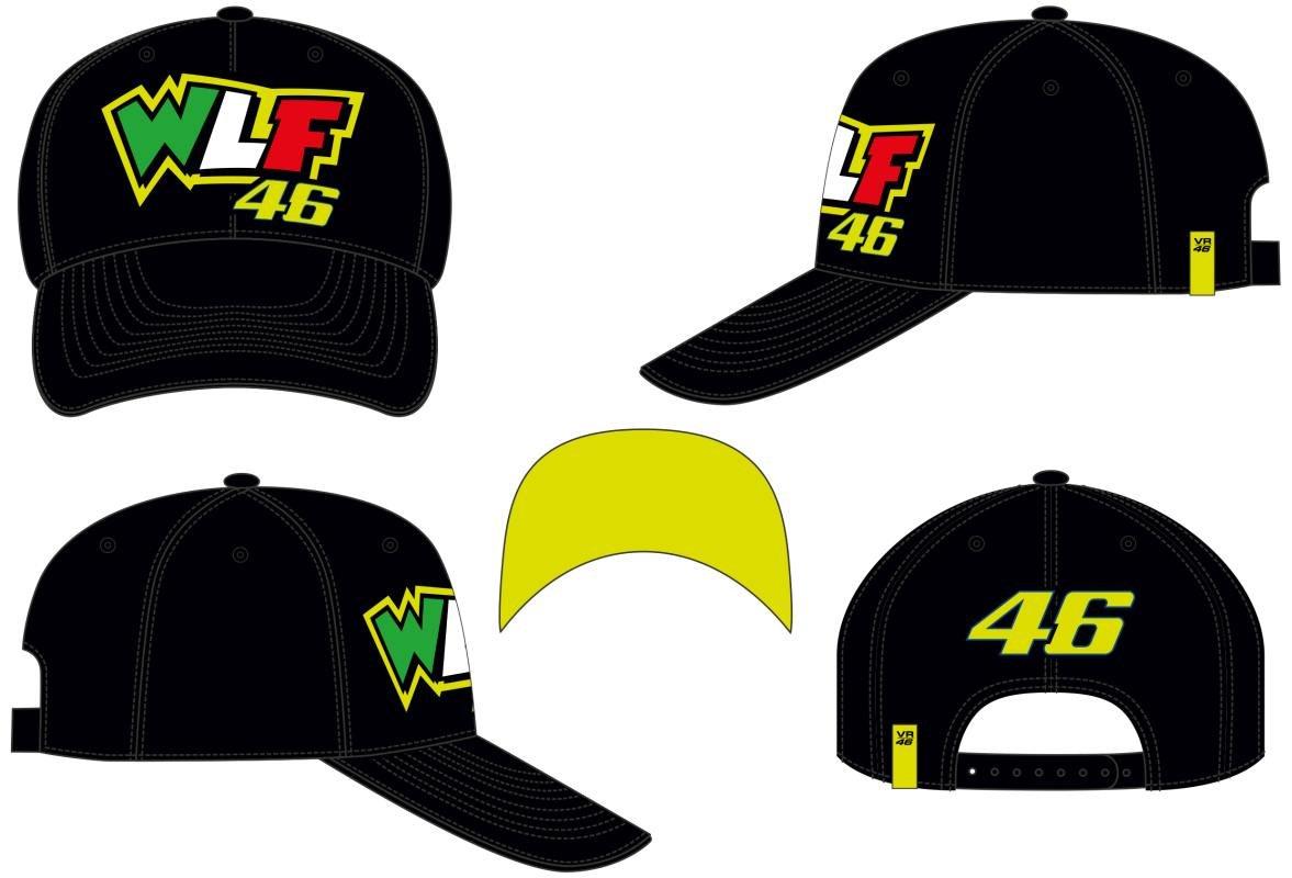 VR46 Gorra béisbol Valentino Rossi Cap WLF 46: Amazon.es: Coche y moto