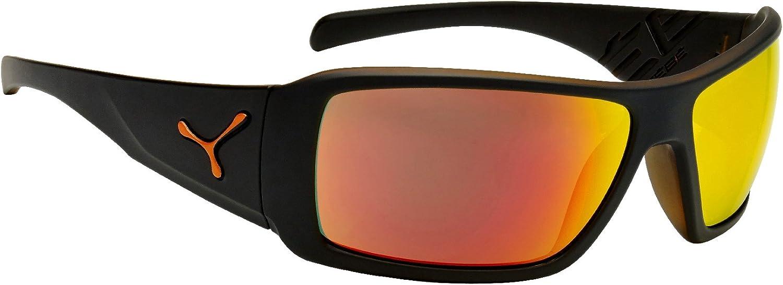 Unisex Adulto C/éb/é Northshore Gafas de Sol Matt Grey Shiny Orange Medium
