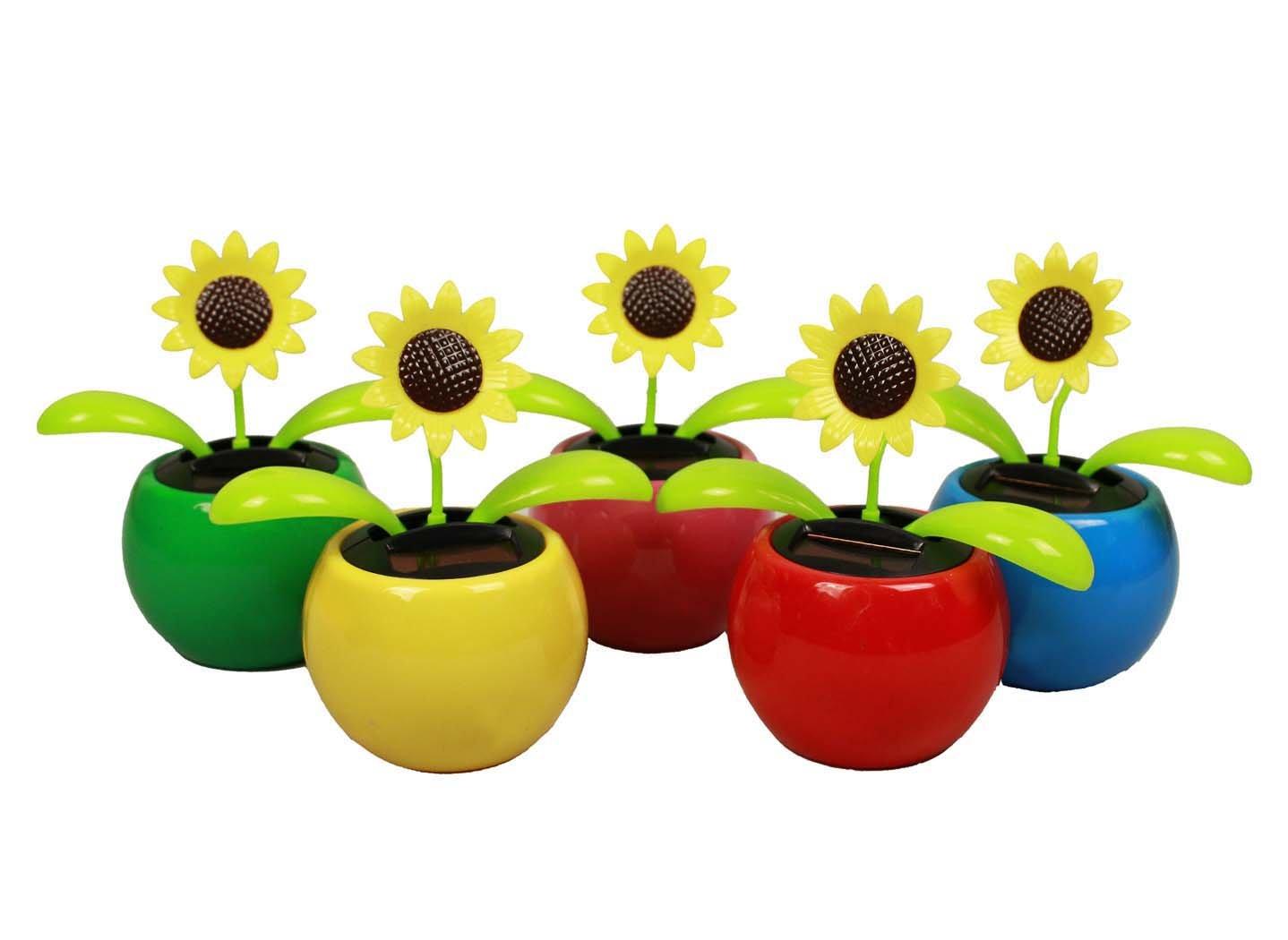HAAC Solar Wackelblume Blume Sonne