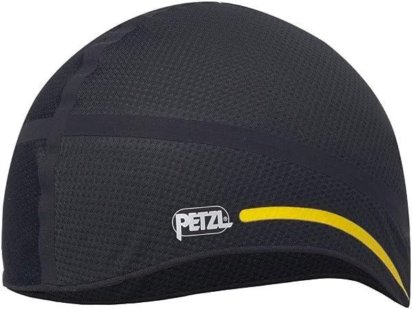 PETZL Hat Liner 1 Casco, Unisex Adulto, Negro/Amarillo, Talla Media/Grande
