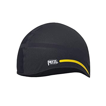 Petzl Hat Liner 1 Helmet Black Yellow 24ab925535d