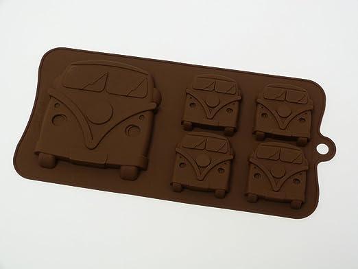 Molde de silicona para caramelos, con diseño de autocaravana ...