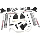 Rough Country - 478.20 - 4.5-inch Suspension Lift Kit w/ Premium N2.0 Shocks for Ford: 08-10 F250 Super Duty 4WD, 08-10 F350 Super Duty 4WD