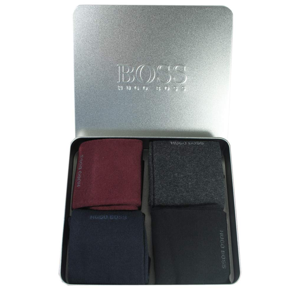 varios colores Calcetines para hombre Hugo Boss Boss Boss 40-46 4 unidades