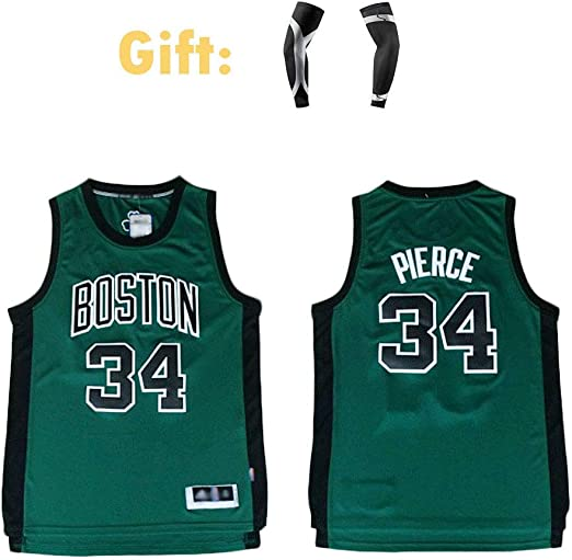 CCKWX Boston Celtics # 34 Paul Pierce Baloncesto Uniforme, Clásico ...