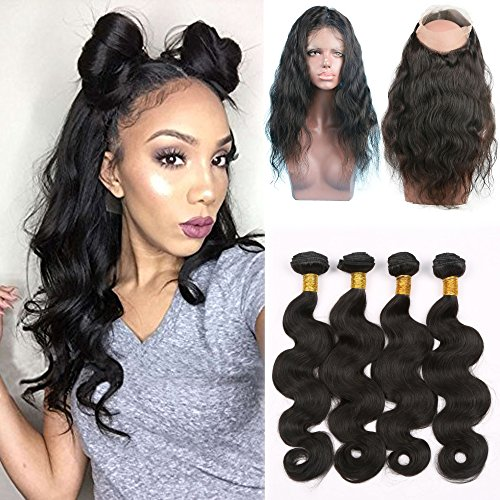 Shengji-Hair-360-Lace-Front-Closure-with-Bundles-for-Black-Women-Brazilian-Virgin-Human-Hair-7a-Body-Wave-360-Lace-Frontal-with-Baby-Hair