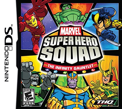 Marvel Super Hero Squad: The Infinity Gauntlet - Nintendo DS (Disney Infinity For Nintendo Ds)