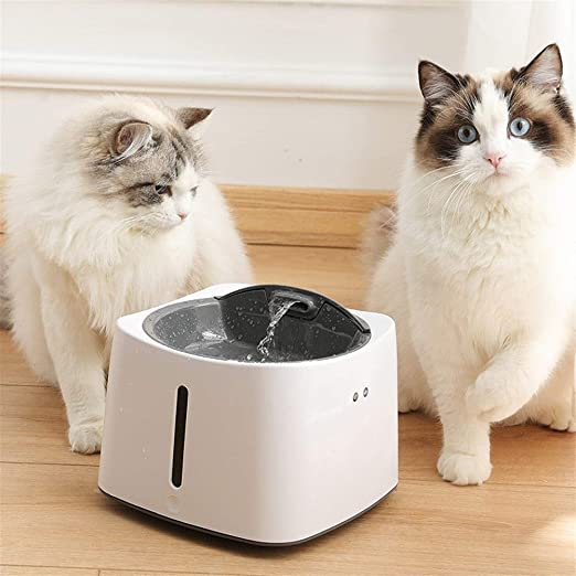 PNYGJYSJ Dispensador de Agua for Mascotas con inducción infrarroja ...
