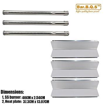 b.q.s Barbacoa Repair Kit para grabadora & Acero inoxidable placa de calor tienda
