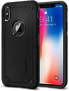 Spigen Hybrid Armor Designed for Apple iPhone X Case (2017) - Black