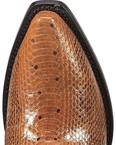 Dan Post Womens Cognac Water Snake Triade Cowgirl Laars Knip Teen Cognac 8 M