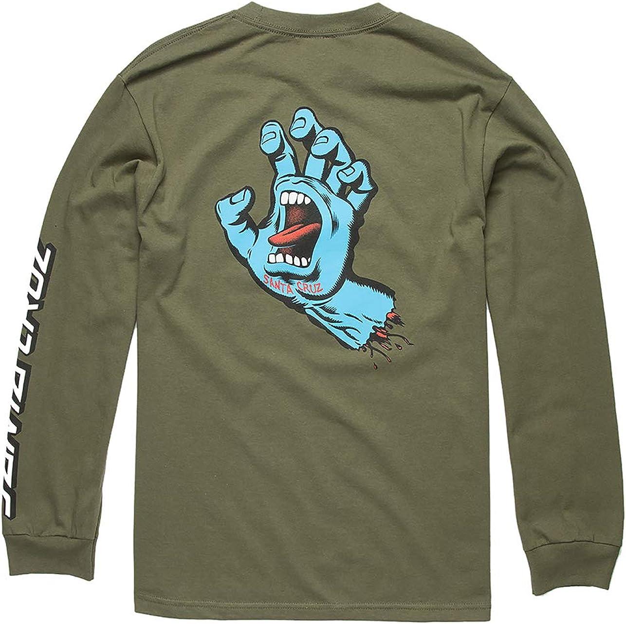 Santa Cruz Men's Screaming Hand Shirts