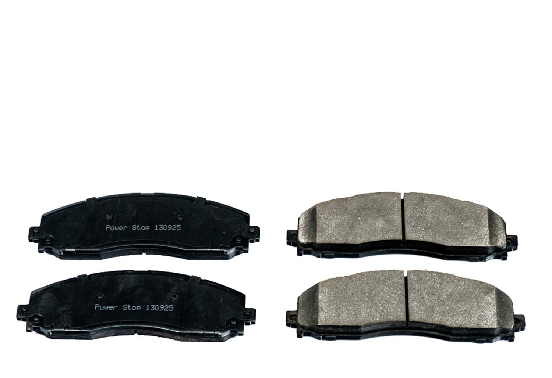 Power Stop 17-1691 Z17 Rear Ceramic Brake Pads with Hardware