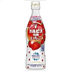 【ドリンクの新商品】カルピス 完熟いちご(希釈用) 470ml