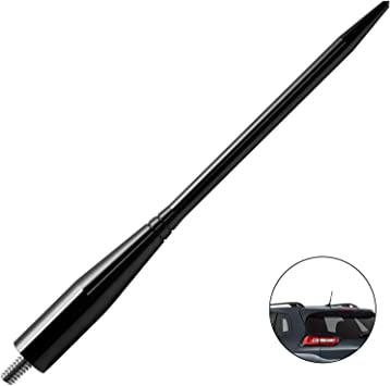 JAPower Replacement Antenna Compatible with Jeep Liberty 2002-2007 5.25 inches-Black