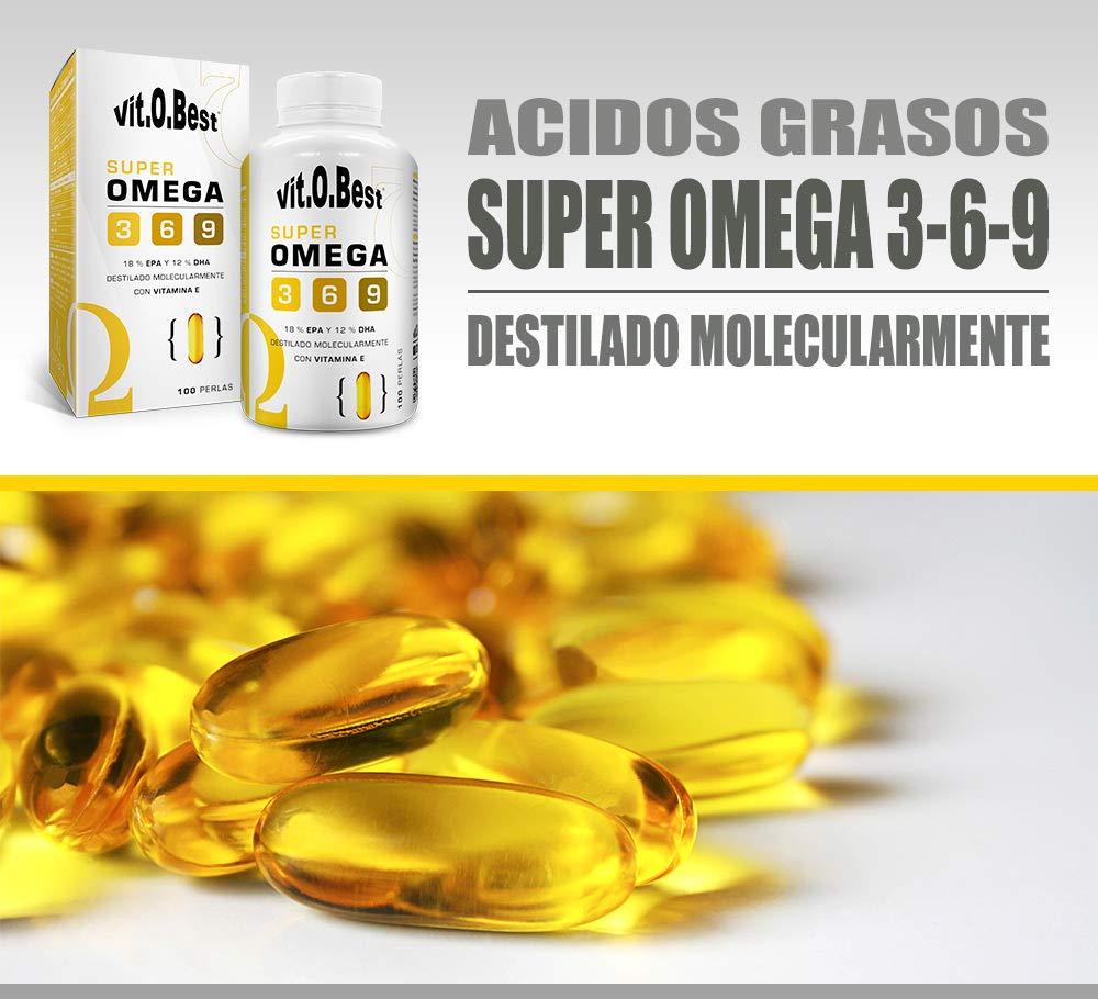 Super Omega 3-6 - 9-100 Cápsulas - Vitobest