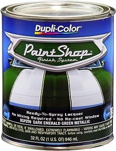 Dupli-Color BSP209 Dark Emerald Green Metallic Paint Shop Finish System - 32 oz.