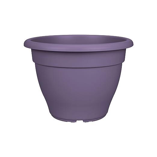 Elho Torino Macetero Campana, Morado (Grape Purple), 29.5x29 ...