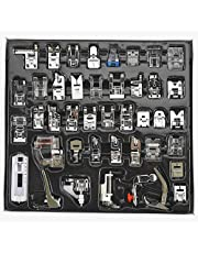 Patioer 42Pcs Domestic Sewing Machine Presser Foot Feet Kit Set for Brother, Baby Lock, Sewing Machine