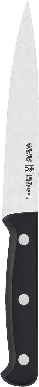 B00004RFNE J.A. Henckels 31462-131 Fine Edge Pro Utility Knife, 5-inch, Black/Stainless Steel 61hpUH1fHNL