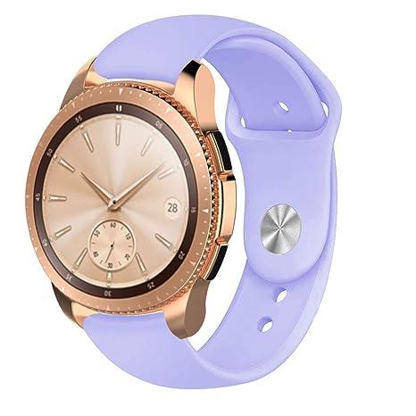 Amazon.com: Sara-u - Correa de silicona para reloj Samsung ...