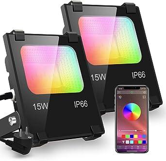iLC Foco LED RGB de Colores 15W Inteligente Controlado por la ...