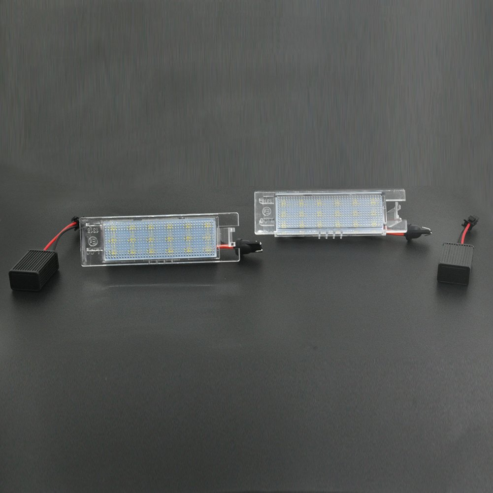 Auto Wayfeng WF® 2Pcs/Set LED Car Number License Plate Lights Lamp Bulb Long Lasting Shock Resistant WF-501
