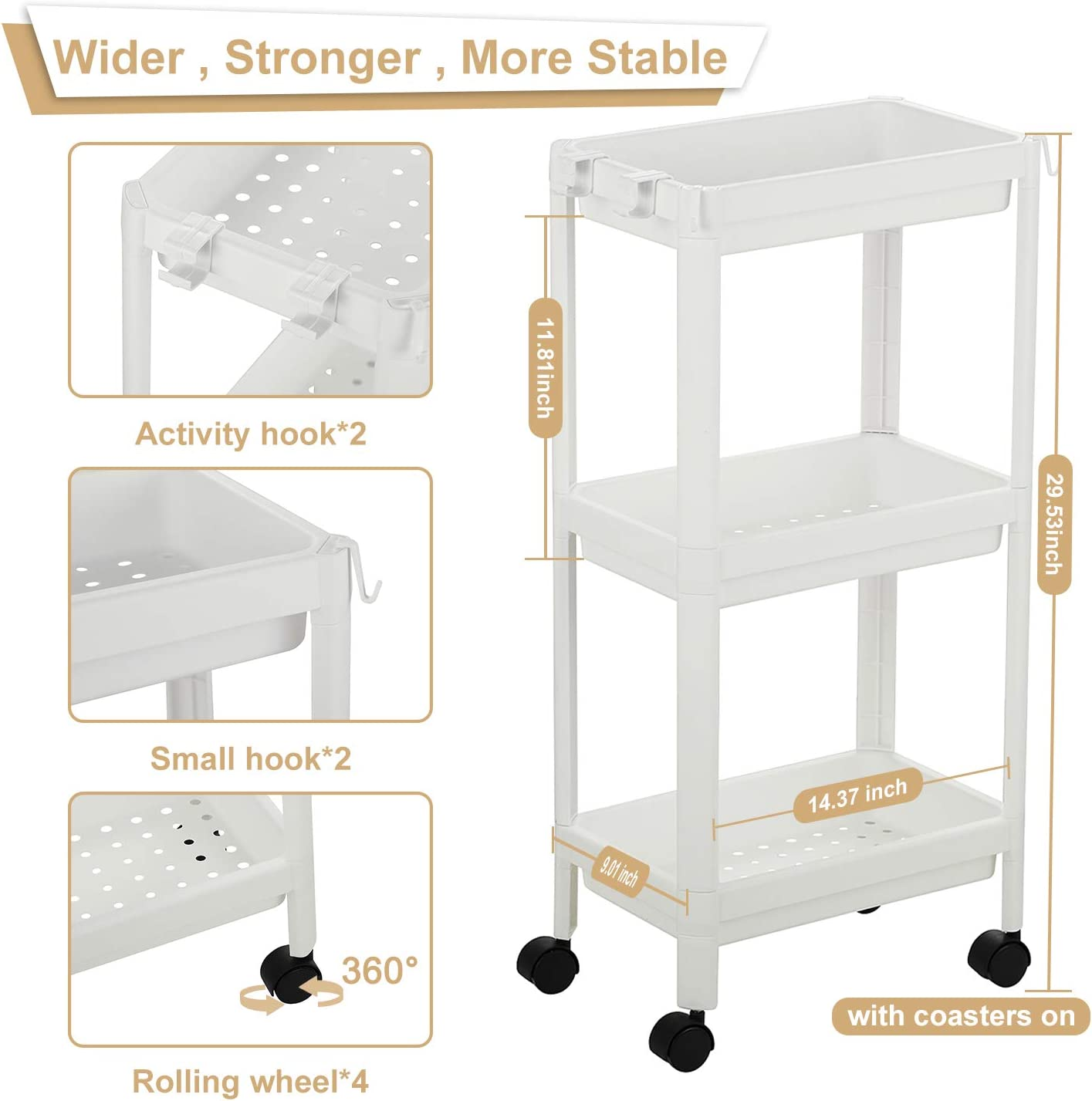 bathroom storage cart for sale