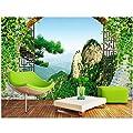 Amazhen Silk Mural Custom Mural 3D Photo Wallpaper Hollow Arches Scenery Decor Painting 3D Wall Murals Wallpaper for Walls 3 D