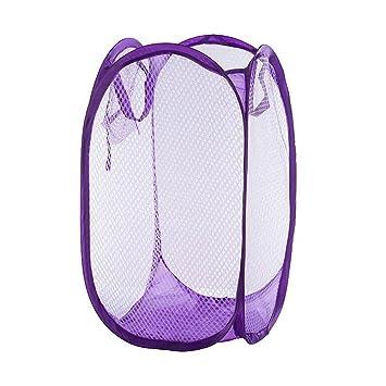 Amazon.com: yuccer bolsas de PopUp para la ropa sucia de ...