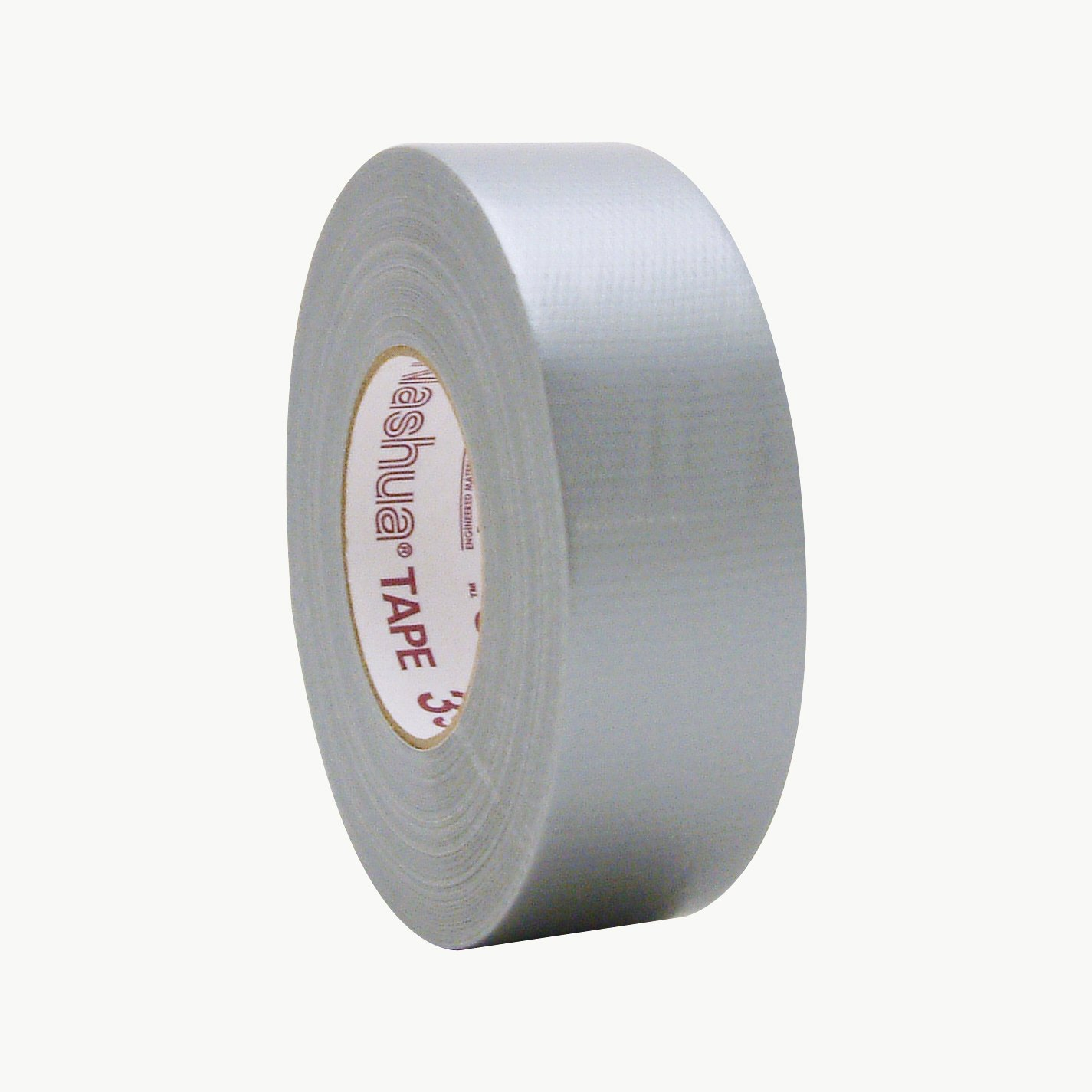 Nashua 398/SI260 398 Professional Grade Duct Tape, 27 lb. per inch Tensile Strength, 60 yd. Length x 2'' Width, Silver