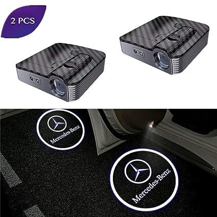 Luz LED para puerta de coche, 2 unidades, proyector de coche, logo ...