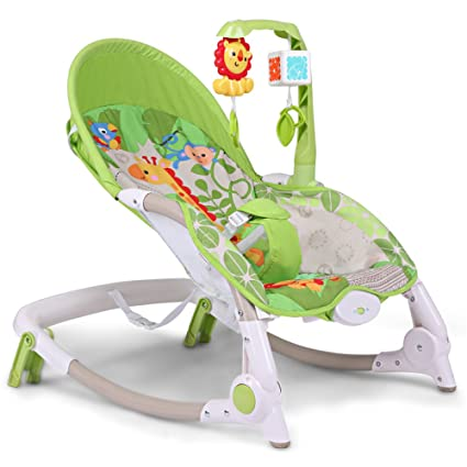 78efe0403 Amazon.com  LZTET Swings Chair Bouncers Baby Rocking Chair Recliner ...