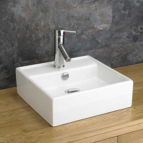 Tivoli quadrata in ceramica lavandino lavello: Amazon.it: Casa e cucina