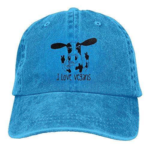 Adult Cow Sports Adjustable Structured Baseball Cowboy Hat
