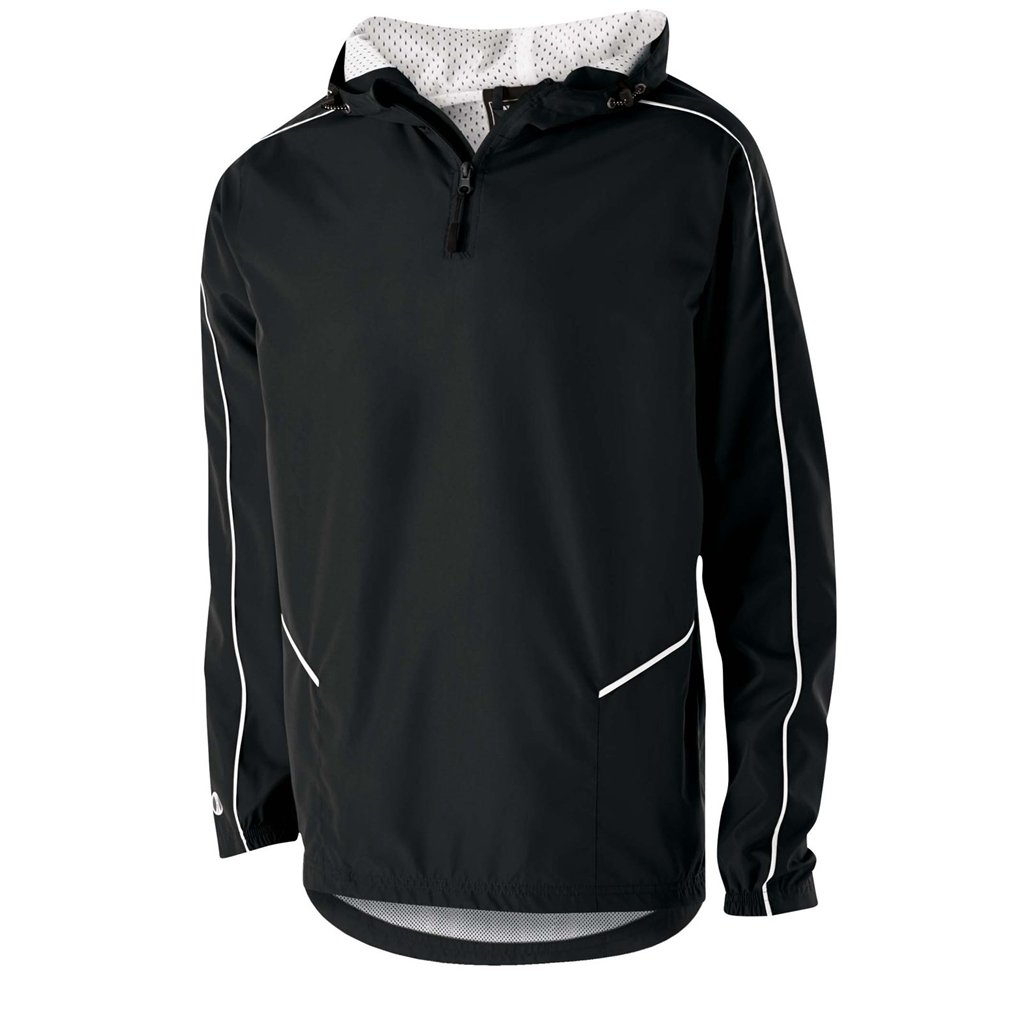 Holloway Wizard Youth Pullover (X-Large, Black/White) by Holloway