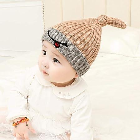 Myzixuan Winter New Baby hat Baby Cap Child Knit Cap