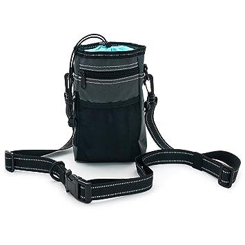 Pinji - Botella de agua para mascotas, portátil, dispensador de agua con cuenco de silicona: Amazon.es: Productos para mascotas