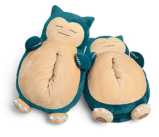 Official Pokémon Snoring Snorlax Slippers