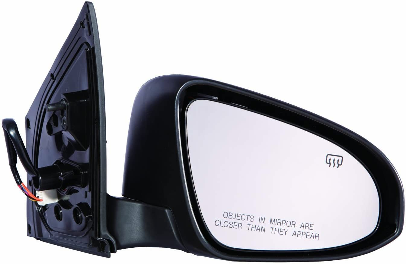 for Toyota Corolla Power Operated Heated Folding Signal Side Door View Mirror 2014 Driver Left Side Replacement