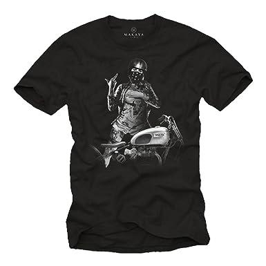 d61420160d8 Vetement de Marque - Tee Shirt Casque Moto Homme: Amazon.fr: Vêtements et  accessoires