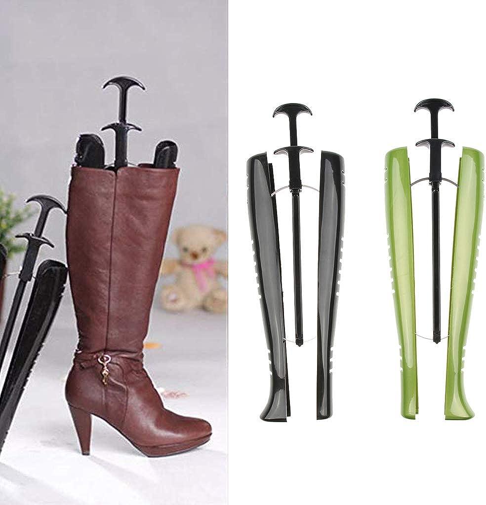 chiwanji 2pcs Embauchoirs Tendeurs de bottes Femmes Bottes Brancard Plastique