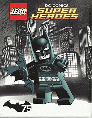 LEGO DC Comics Super Heroes Comic Book with Fold-out Poster Batman SDCC 2014 (Print Fold Book)
