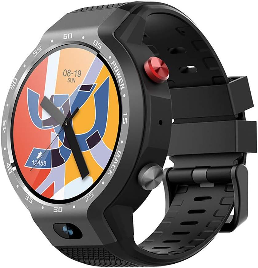LUOXUE Reloj GPS Multideporte, Funciones de mapeo, guía de Ritmo Ajustada por Grado y sensores de Pulso