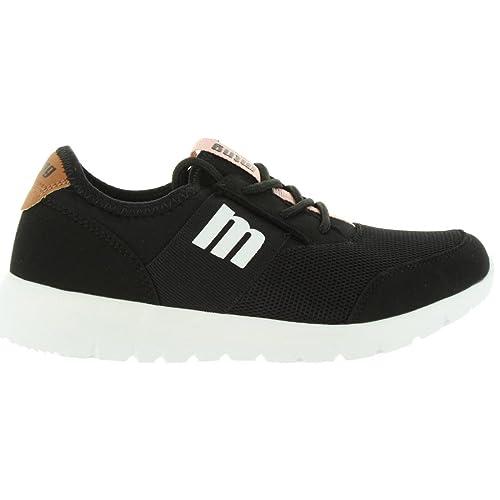 Zapatillas Deporte de Mujer MTNG 69813 C27555 Mesh Negro: Amazon.es: Zapatos y complementos