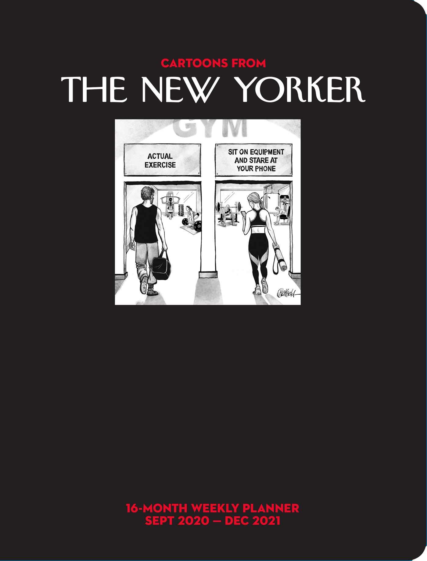 Cartoons from The New Yorker 16 Month 2020 2021 Weekly Planner