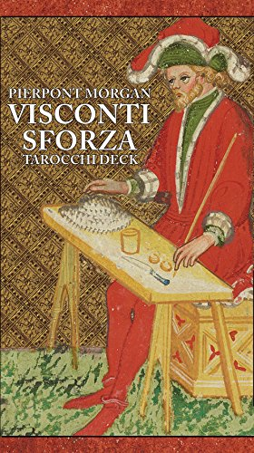 Visconti Sforza Tarot Cards (Best Deck Over Paint)