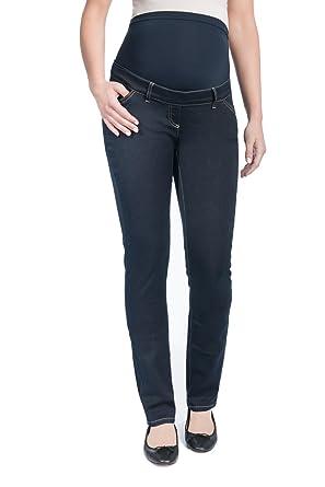 Christoff Umstands-Jeans LEA schlicht straight leg - 11/71/8: Amazon.de:  Bekleidung
