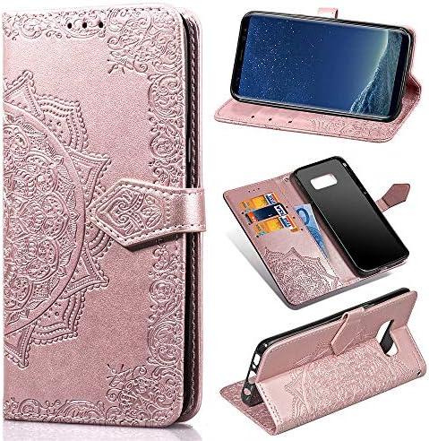 Zcdaye Brieftasche Hülle Für Samsung Galaxy S8 Elektronik