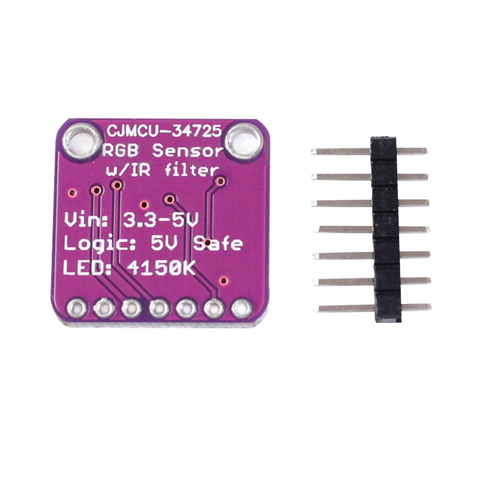 Diymore Tcs34725 Rgb Light Color Sensor Recognition Module For The We Will Use In This Circuit Is A Tcs3200 Arduino Industrial Scientific